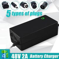 48V 2A Durable Lithium Battery Charger Electric Bicycle Bike Scooter Charger Power Supply Balance Car Charging Equipment
