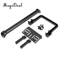 MagiDeal Professional 1Set Metal 1:10 Front Bumper Device for Traxxas TRX 4 TRX 4 RC Crawler Parts