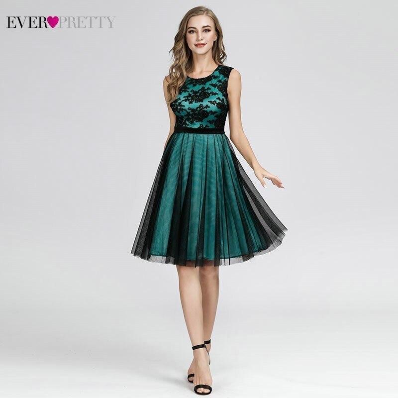 Appliques Bridesmaid Dresses Ever-Pretty A-Line Contrast Color Sleeveless Bridesmaid Dresses 2020 Robe Demoiselle D'honneur