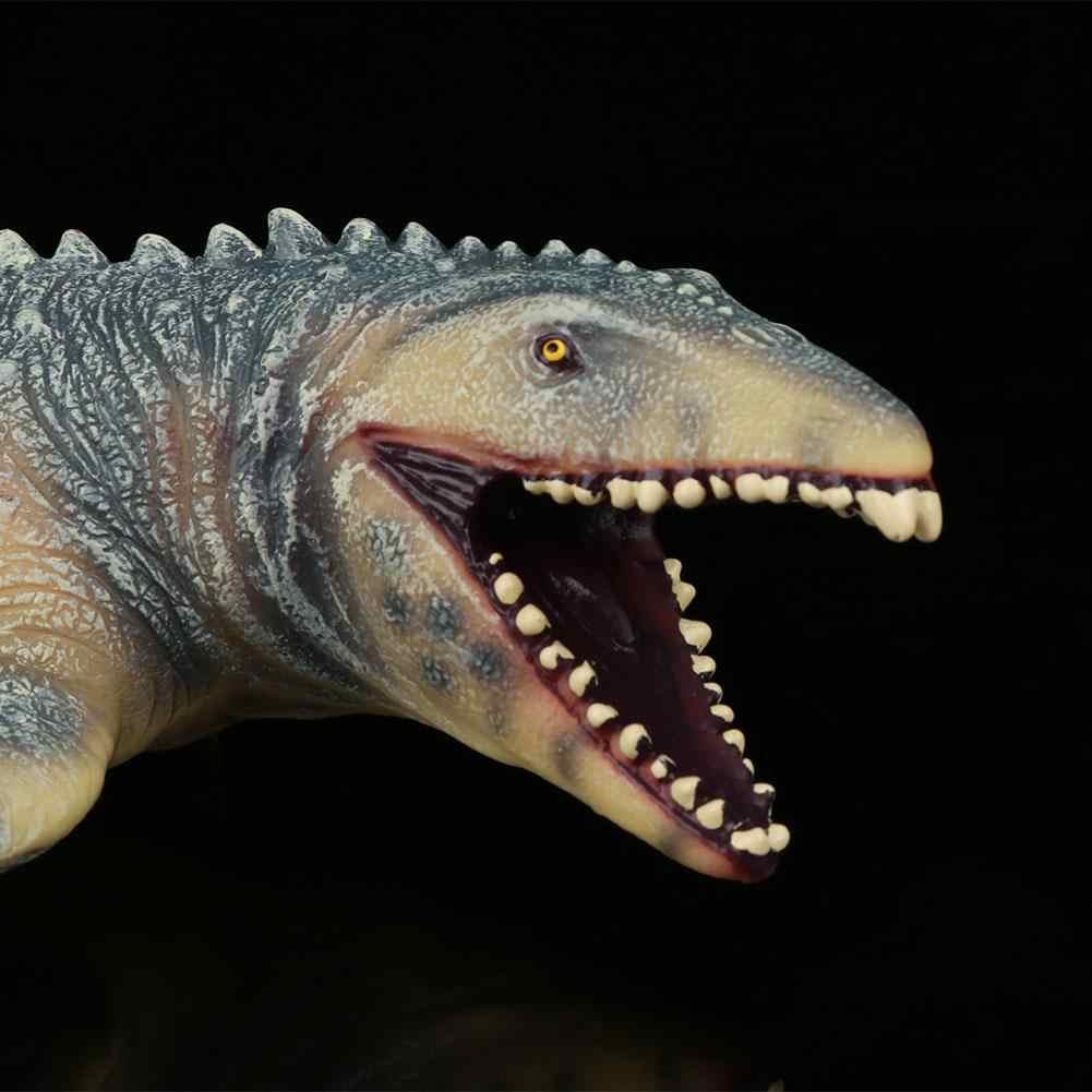 45CM Dinossauro Realista Toy Figuras para Crianças Mosasaurus Mosasaurus Dinossauro Modelo Animal Brinquedo Macio brinquedo modelo de dinossauro