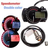 Waterproofing Digital Display Gauges 95mm Speedometer Speedos Gauge 199km/h With Backlight