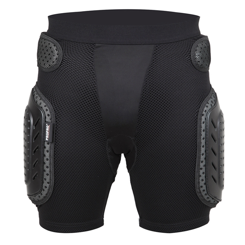 Propro Black Skateboarding Shorts Anti-Drop Armor Gear Hip Support Protection Sportswear Skating Cycling Skiing Shorts