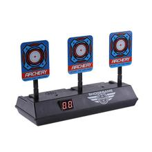 Shooting Target Kids Sound Light Shoot Game High Accuracy Scoring Reset Electric Guns Accessories Party Fun Toys