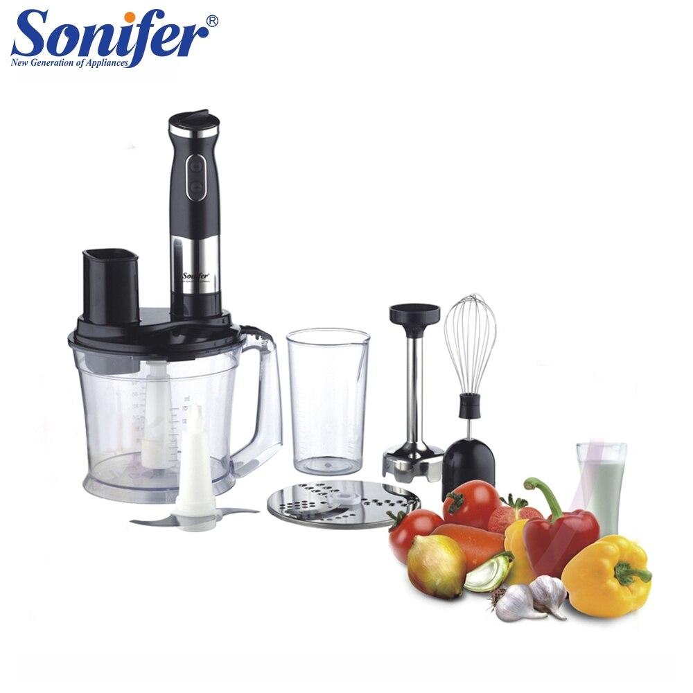500 W multifunción 5 velocidad eléctrica licuadora de alimentos de cocina batidora de mano batidor de huevo vegetales picadora de carne mezcla Sonifer