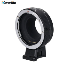 Commlite CM- EF-EOSM Electronic Auto Focus Lens adapter for Canon EF EF-S lens to EOS M EF-M M2 M3 M5 M6 M10 M50 M100 Cameras lemo connector fgg 0b 7pin to dtap for tilta nucleus m wlc t03 wireless follow focus lens control nucleus m power cable