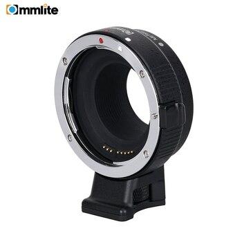 цена на Commlite CM- EF-EOSM Electronic Auto Focus Lens adapter for Canon EF EF-S lens to EOS M EF-M M2 M3 M5 M6 M10 M50 M100 Cameras