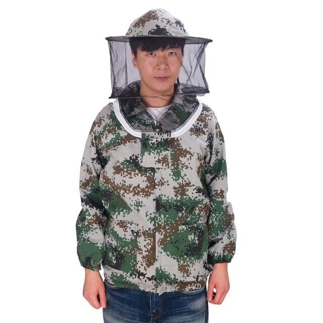 Conjunto terno roupas para o apicultor apicultura apicultura Anti abelha 1 behive pesca de proteção vista HD digital