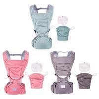 Multifunctional Newborn Infant Kangaroos Hipseat Baby Carrier Prevent O Type Legs Ergonomic Sling Backpacks