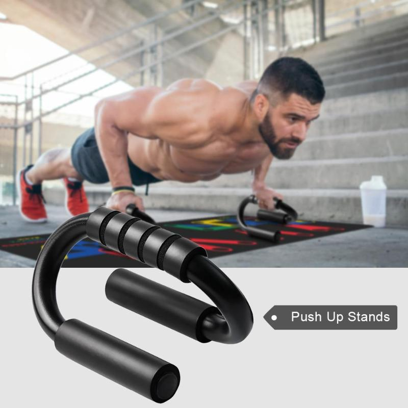 Multifunction S/H Shape Stand Bar Push Up Rack Board Anti-slip Body Building Training System Home Fitness Exercise Equipment