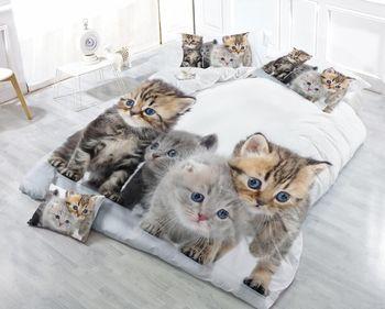 Bettgarnitur Mit Leopardenmuster | Schwarze Katze Leopard Korn 3D Bettwäsche Set Tröster Bettbezug-set Bett Blatt Kissen Bettwäsche Wohnkultur Weihnachten Bedding29