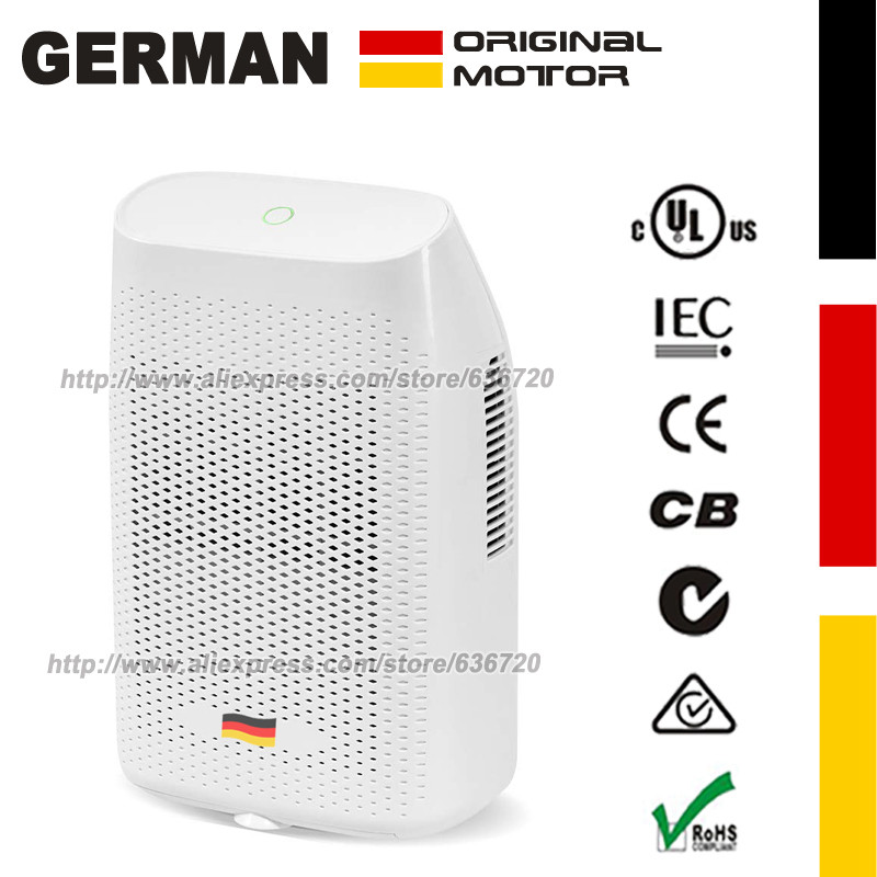 2000 ml Dehumidifier Mini Dehumidifier Electric Dehumidifier Compact and Portable for Cellar Room Home Garage Kitchen