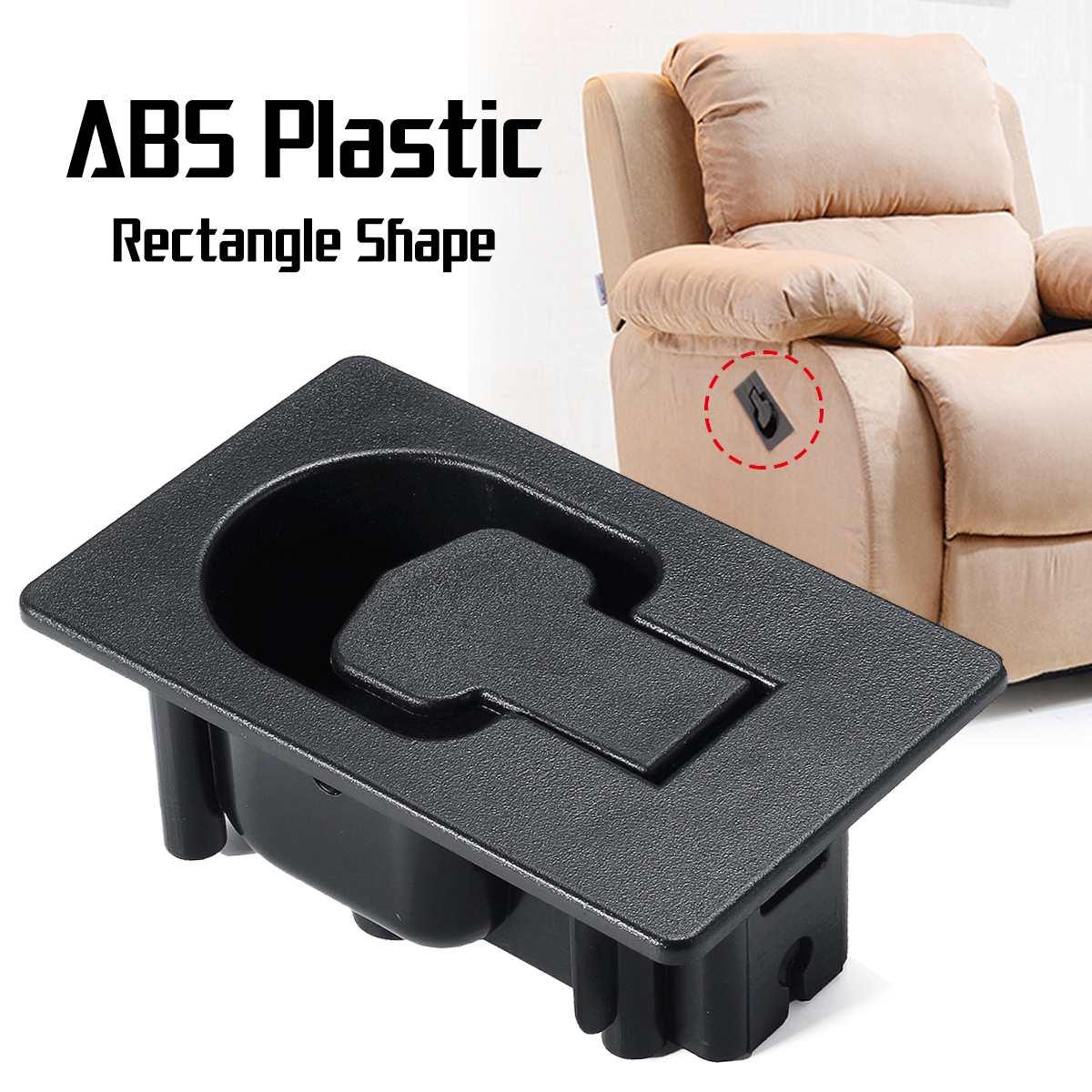 Abs Plastic Handvat Fauteuil Stoel Sofa Couch Ontsluitingshendel Vervanging Rechthoek Lage Prijs