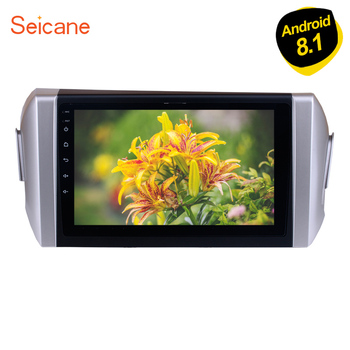 Seicane 9 Android 9.1 GPS Navi Mirror Link WIFI For 2015 Toyota INNOVA LHD DAB+ 1080P Multi-Touch Screen 2din Car Stereo Player image