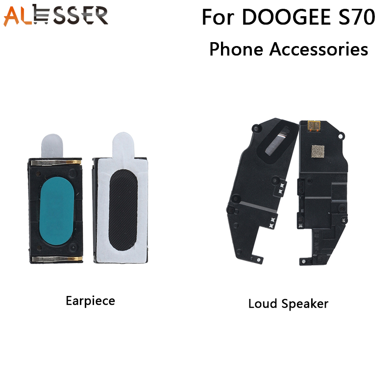 Alesser For Doogee S70 Earpiece New Assembly Fixing Part Replacement For Doogee S70 Lite Loud Speaker Mobile Phone AccessoriesAlesser For Doogee S70 Earpiece New Assembly Fixing Part Replacement For Doogee S70 Lite Loud Speaker Mobile Phone Accessories