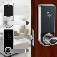 Touchscreen Electronic Smart Door Lock Password Card Keyless Lock 2019