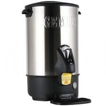 Термопот GEMLUX GL-WB8SS(Мощность 1500 Вт, объем 8 л, электронный терморегулятор, диапазон температур 30-110 С, корпус из нержавеющей стали, каплесборник