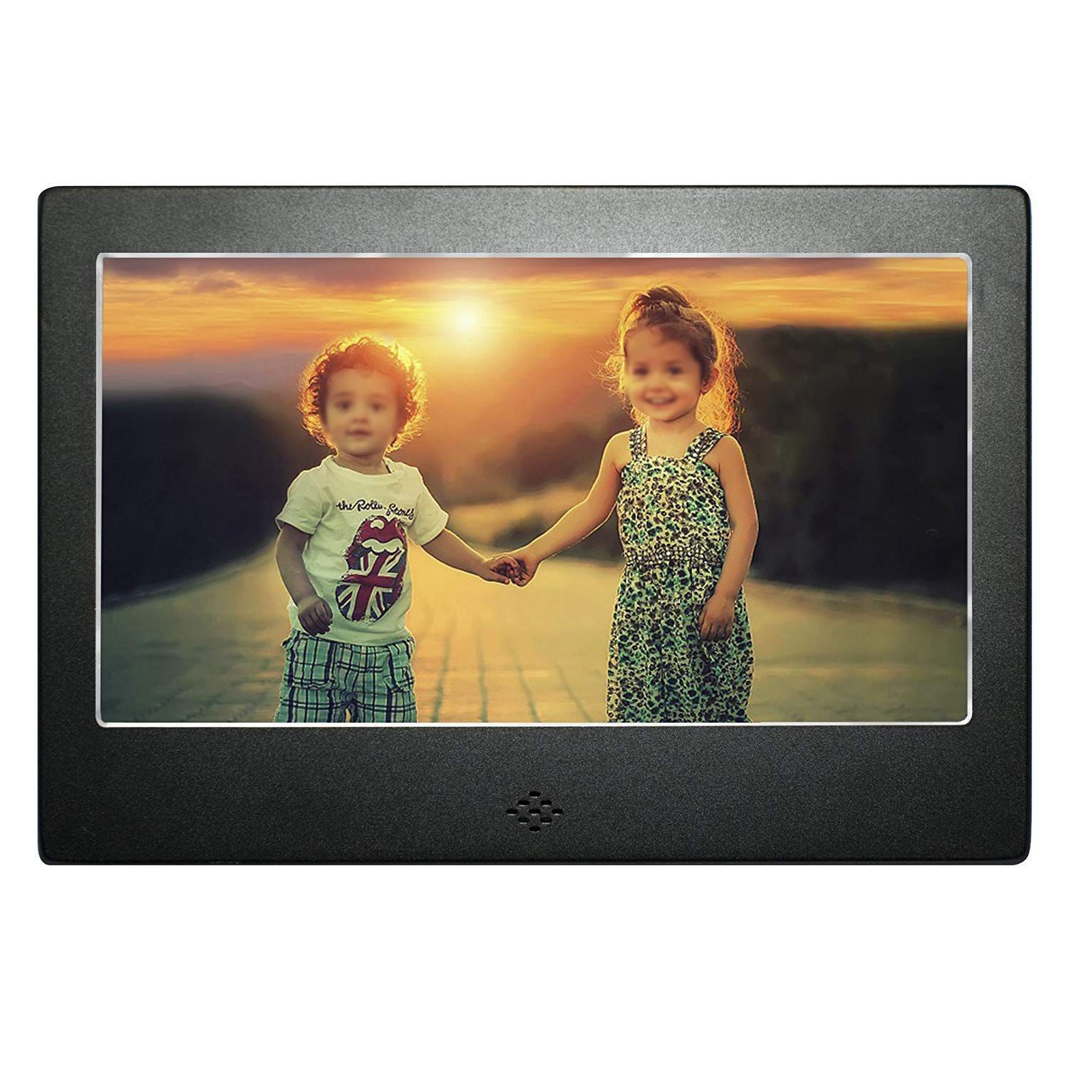 7 inch Digital Photo Frame Black Matte High Resolution w/Backlight and Remote- Mains Powered with USB AND SD card port (EU Plug) шапка adidas performance adidas performance ad094cuunz02 page 6