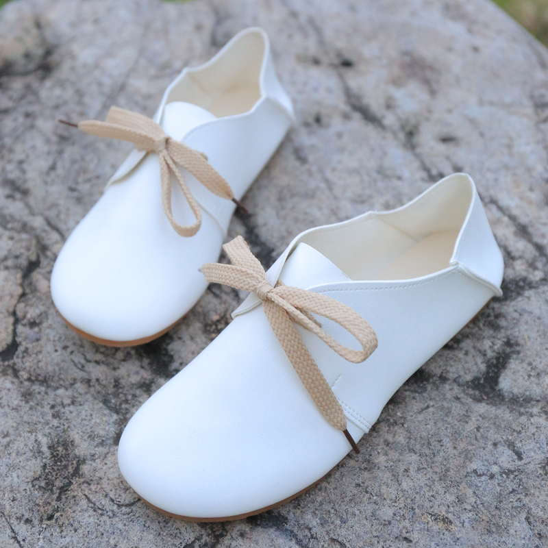 Autumn new style thick bottom comfortable wear - resistant shallow-mouthed doll shoes leisure single shoe package mail 9