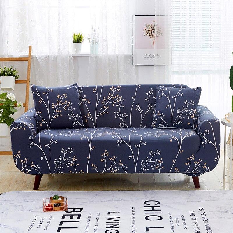 Elastic Sofa Towel Furniture Protector Sofa Stretch Tightly Wrap All inclusive Slip resistant Corner Sofa Cover 1/2/3/4 Seat 44