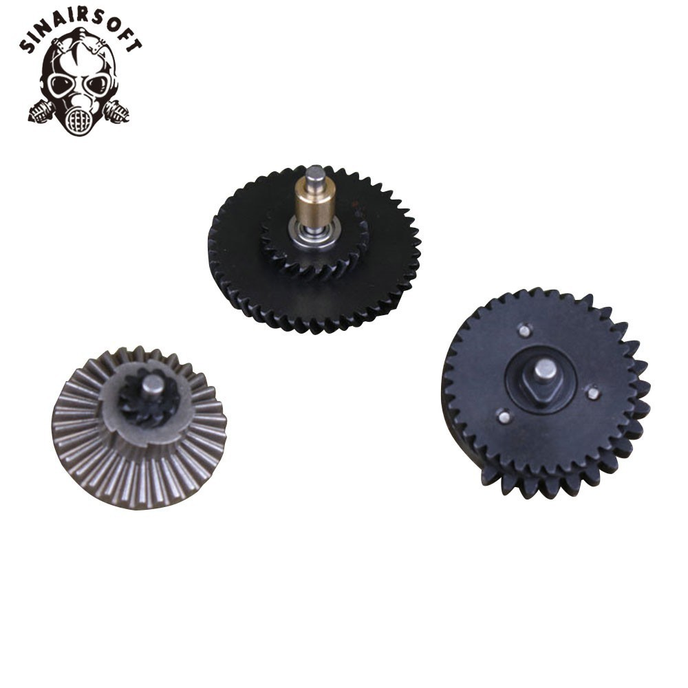 100:200 Bearing Gear Super Highspeed 3 Bearing Gear Reinforcement Helical Super Torque  AEG Airsoft Gearbox Hunting Accessories