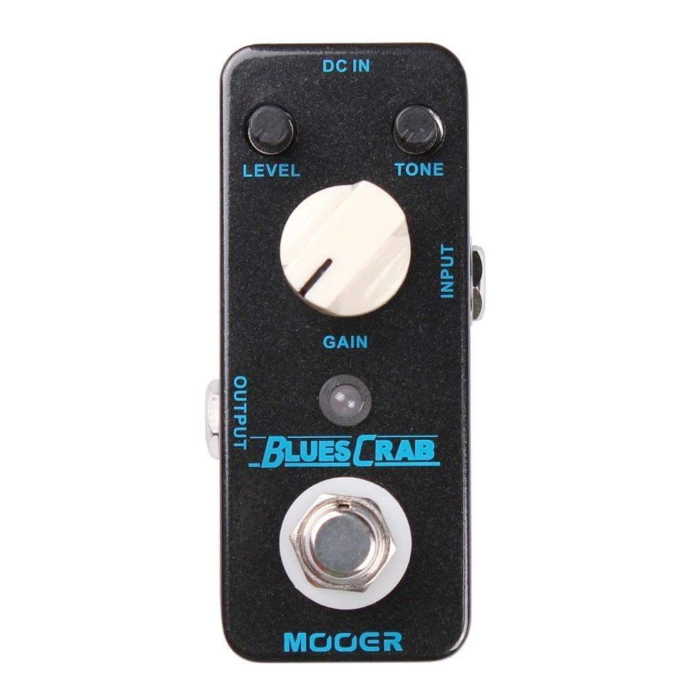 MOOER BLUES CRAB Blues Overdrive Guitar Effect Pedal True Bypass Full Metal ShellMOOER BLUES CRAB Blues Overdrive Guitar Effect Pedal True Bypass Full Metal Shell