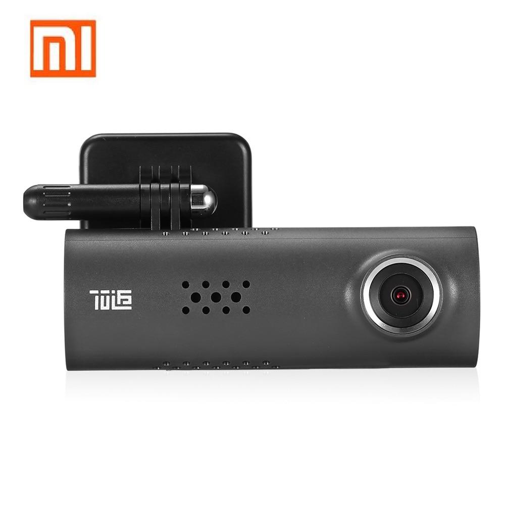 все цены на Xiaomi 70 Minutes Smart Wireless Car DVR 130 Degree Wide Angle Car 1080P Full HD Camera Driving Recorder G-Sensor Night Version онлайн