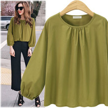 Europe and the United States foreign trade hot style cotton round collar jacket new female fall fat younger sister show thin big