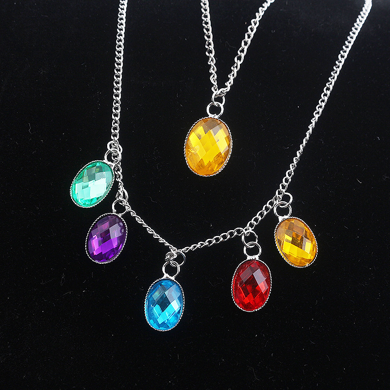 Infinity Gauntlet cosplay accessoire Thanos COS Endgame Infinity Pierres Collier