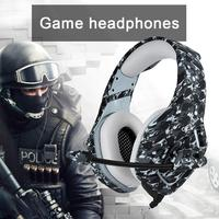 Camouflage Headsets for PS4 Headset with Mic Stereo Gaming Headphones for Cell Phone for Xbox One Laptop PC Gamers