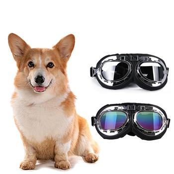 80855c7b89 1 PC de moda para mascotas gafas de perro gran marco de gafas de sol para