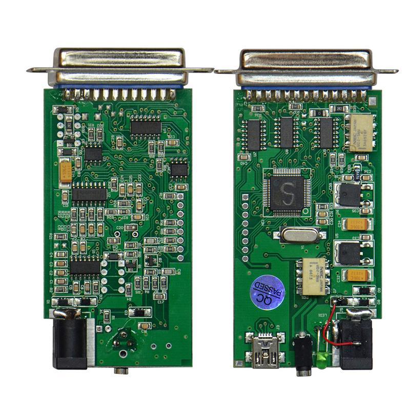 Qualité supérieure Carprog V10.0.5 10.9.3 Voiture Prog Chip ECU outil de réparation De Voiture Nouvelle Version Avec Tous Les 21 Articles Adaptateurs
