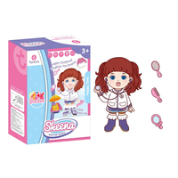 Children Pretend Role Play Doctor Electronic Talking Doll Playset Pretend Play Doctor Nurse Performing Holiday Gift For Kids Toy