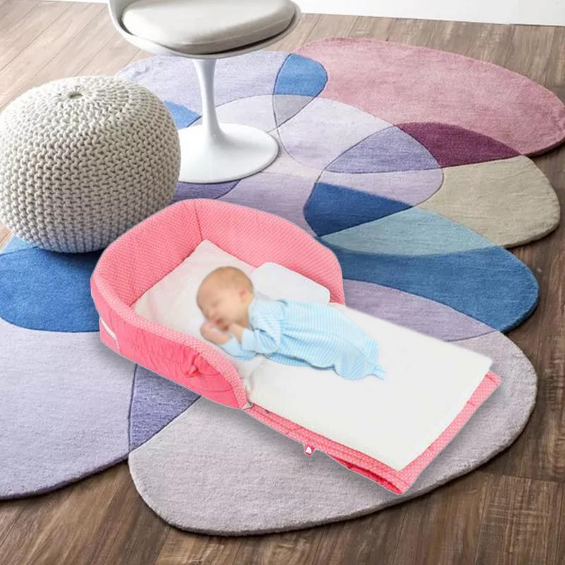 3 en 1 multifonctionnel Portable berceau sac à langer et poste à langer couffin panier de couchage pliable bébé lit pour les nouveau-nés