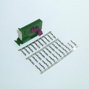 1 комплект 32 pin 1J0972977C автомобильный разъем ecu для Audi VW Seat Skoda инструмент приборной панели соединители 1719057-1 1719058-1