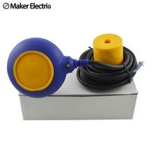 цена на Liquid Water Level Sensor water tank level float switch MK-CFS03 Float Switch Controller Contactor Sensor 4 meter