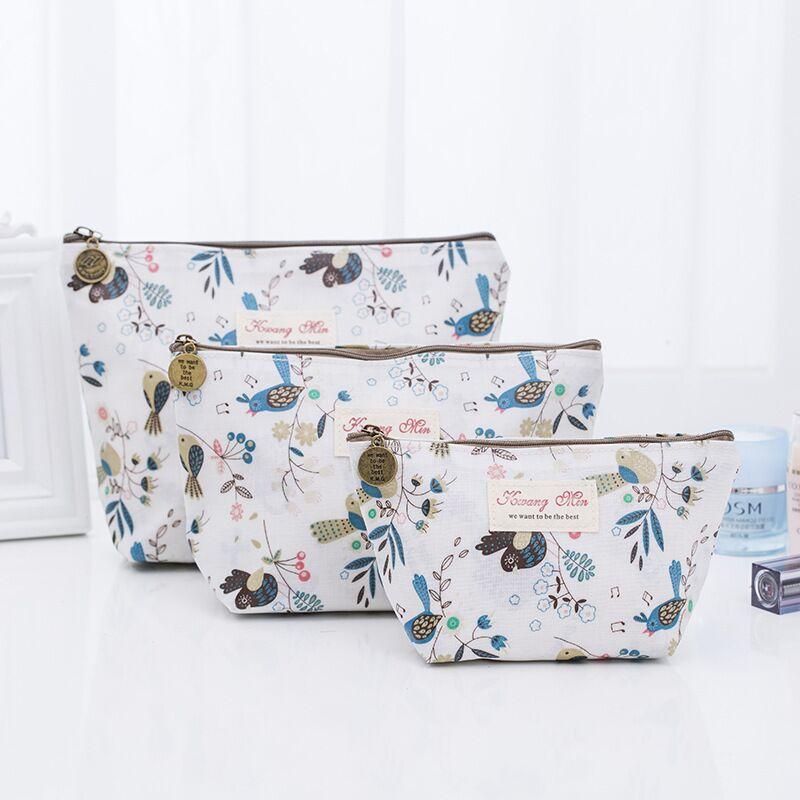 100% QualitäT Reise Kosmetik Taschen Floral Make-up Bags Toiletry Fall Hängen Beutel Waschen Organizer Taschen Phantasie Farben