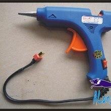 free shipping 1pcs 3S 12v 30W GLUE GUN whit 5pcs hot melt glue for repair RC pla