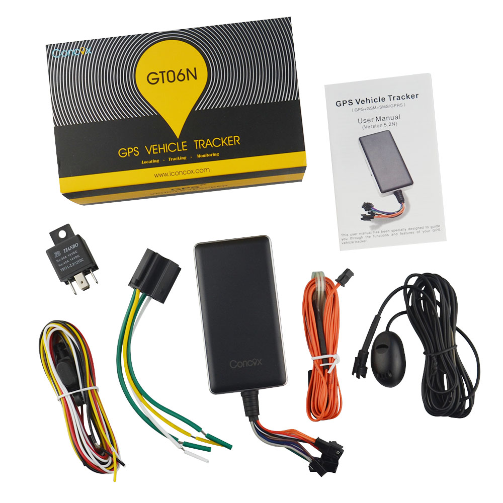 12 Pin Multi function GPS tracker vehicle car tracking device With