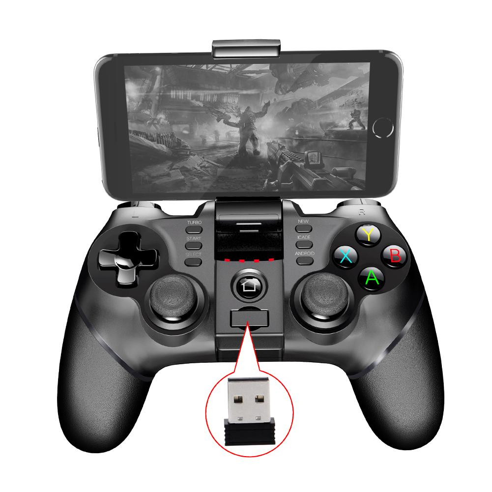 Bluetooth Wireless Handle Gamepad 2.4G Wireless Bluetooth Receiver Support Ps3 Game Console Player Foripega 9076 Batman Handle-in Gamepads from Consumer Electronics