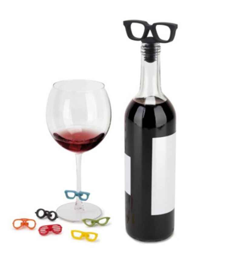 Detail Feedback Questions about Glasses Silicone Wine Bottle