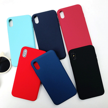 Applicable to iPhone 6 6S 7 8 Plus XR XS Max tpu official silicone cute soft shell luxury drop protection box shockproof