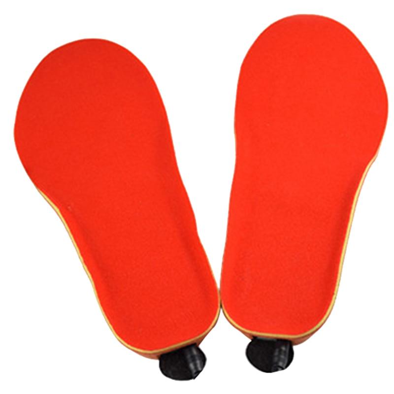 Semelles chauffantes électriques chauffe-pieds chauffe-pieds batterie chaussettes chaudes botte de Ski