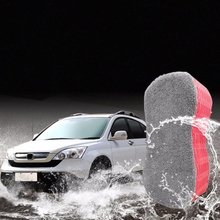 Car Wash Sponge Bone Design for Polishing Porous brush cleaning tool car window body accessories