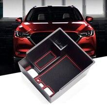 Автомобильный Центральный перчатки с подкладкой лоток подлокотник коробка для хранения Замена для Mazda CX-5 17-18 консольный Органайзер поддон для перчаток держатель коробка