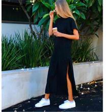 2019 New Fashion  Dress Maxi Women Dresses Beach Vintage Lolita Ukraine
