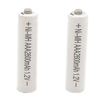 2/10PCS 1.2V AAA2600mAh NI MH AAA Pre-Charged Rechargeable Batteries Ni-MH Rechargeable aaa Battery For Toys Camera Microphone bty 1350mah ni mh aaa rechargeable batteries 2 pack