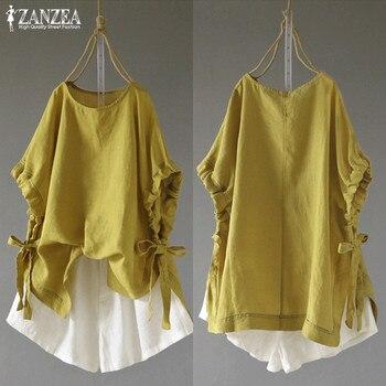 Batwing Half Sleeve Casual Blusas Female Bow Shirts