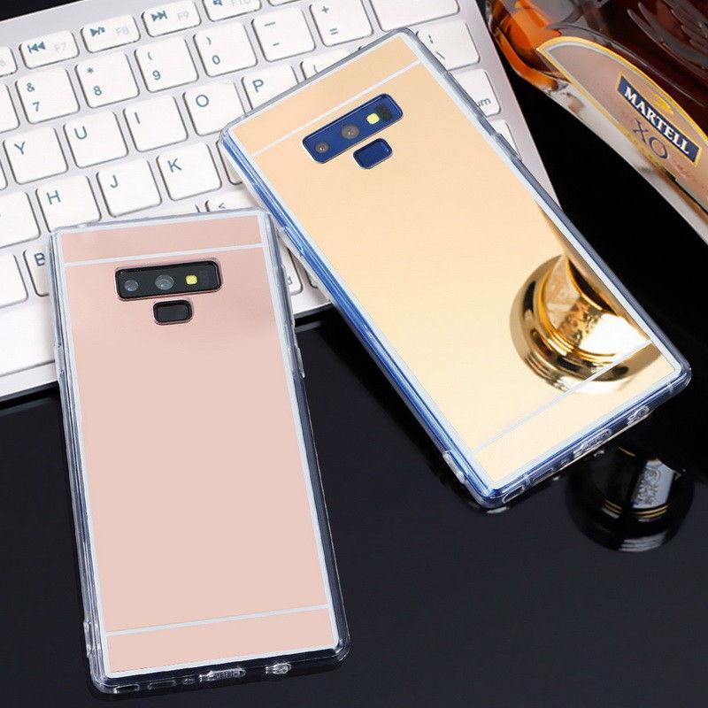 Luxury Mirror Slim TPU Cases For Samsung Galaxy S10 E S9 S8 Plus S7 Edge J4 J6 Plus A6 A8 2018 A5 A7 J3 J5 J7 2017 Case
