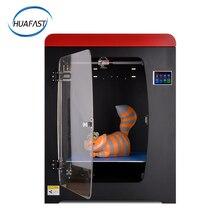цена на HUAFAST HS-334 3D Printer Large Plus Printing Size 300x300x400mm high Precision Reprap Metal Frame Dual Extruder Double Z Axis