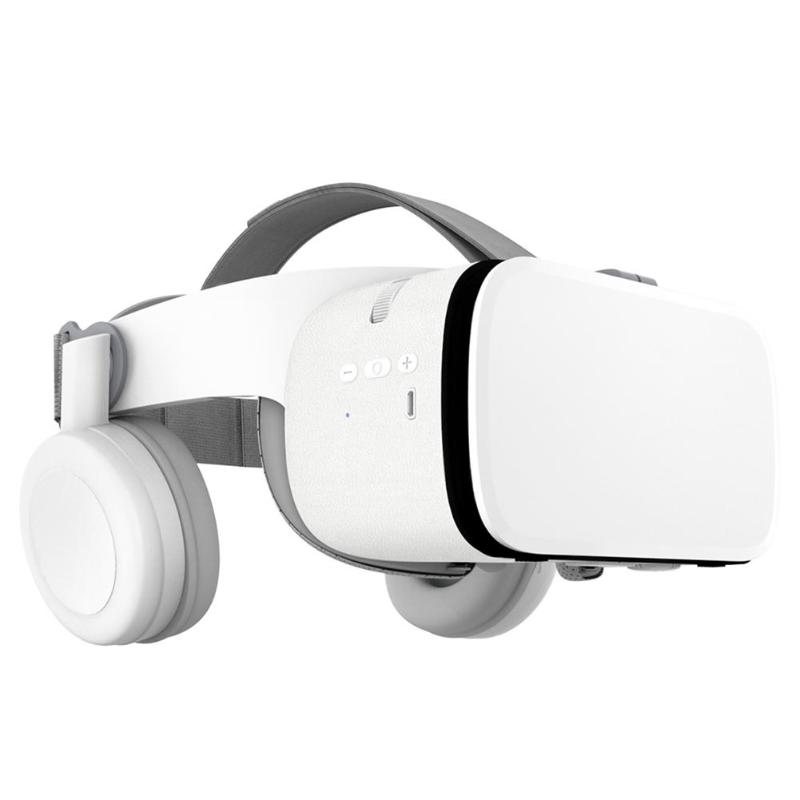 Wireless VR Z6 Bluetooth VR Virtual Reality Headset 3D Glasses VR Glasses Mobile Games Audio and Video Dedicated image